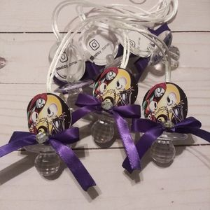 24 Nightmare Before Christmas Guest Necklace Favor
